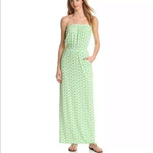Lilly Pulitzer Women Green Casual Dress xs
